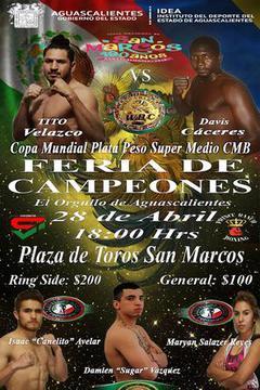 Feria De Campeones: Tito Velazco vs. Devis Caceres