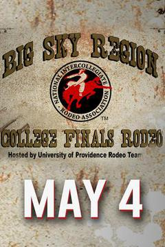 Big Sky Regional Finals Rodeo – May 4
