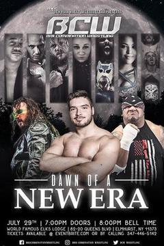 Brii Combination Wrestling: Dawn of A New Era