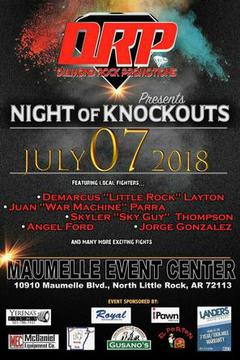 Diamond Rock Promotions: Night of Knockouts