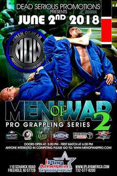 Professional Grappling Series: Men of War 2 (Tape Delay)