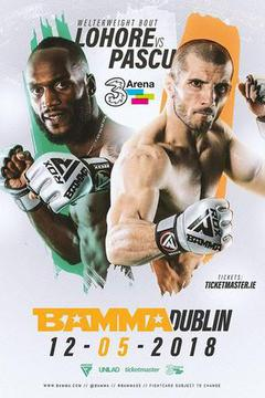 BAMMA 35 - Lohore vs Pascu (Free UK)