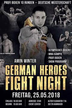 German Heroes Fight Night
