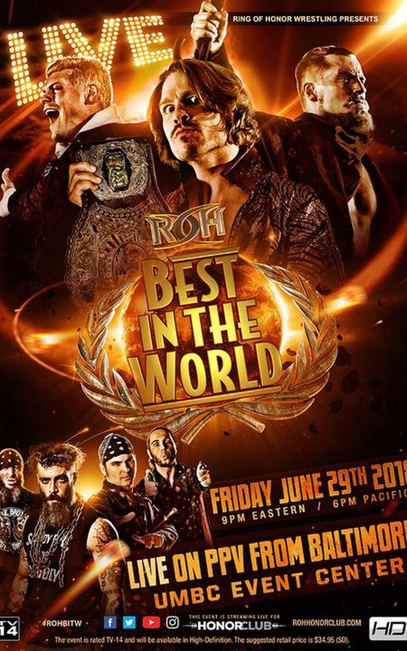 2018 Top 10 It Issues: ROH Best In The World 2018 Official PPV Replay