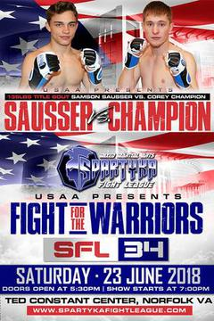 Spartyka Fight League - SFL 34 Fight For The Warriors
