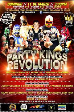 The Houston Lucha Showdown 3: Party Kings Revolution