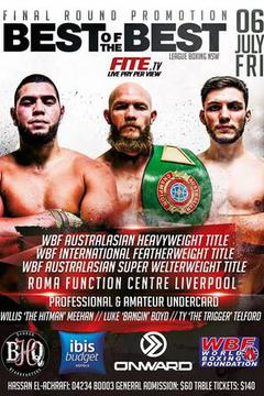 Final Round Promotions: Best of the Best Boxing Series