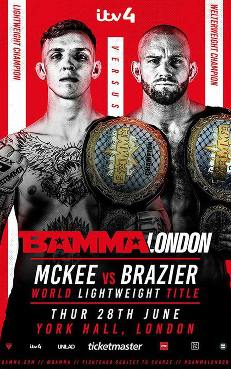 BAMMA Fight Night London Official PPV Replay - FITE