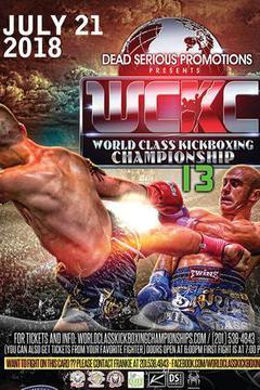 World Class Kickboxing Championship 13  (Tape Delayed)