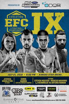 EFC 9 - Chris Harris vs Jake Lindsey