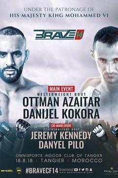 Brave 14 - Ottman Azaitar vs. Danijel Kokora