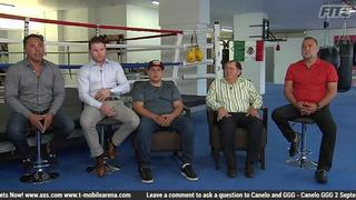 Oscar De La Hoya talks negotiations for Canelo vs GGG 2