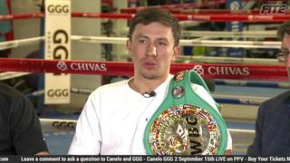 Gennady Golovkin stands his grownd on why he's a big draw