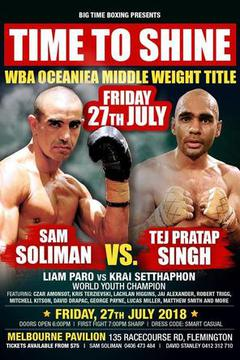 Big Time Boxing - Sam Soliman vs. Tej Pretap Singh