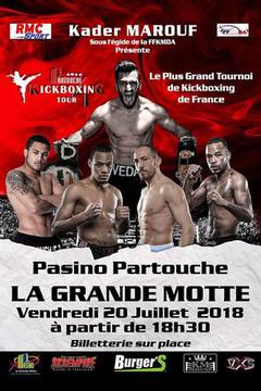 Partouche Kickboxing Tour, July 20