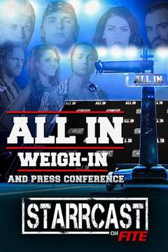 All In Weigh In & Press Conference