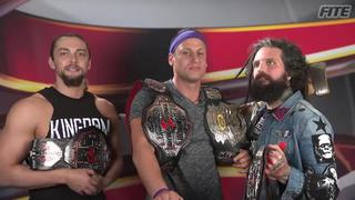 The Kingdom talk about any potential contenders for their titles