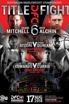 Diamondback Fighting Championship 6 - Shane Mitchell vs Rick Alchin