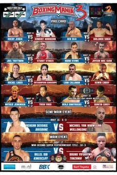 Boxing Mania 3 - Billel Dib vs Bruno Vifuaviwili