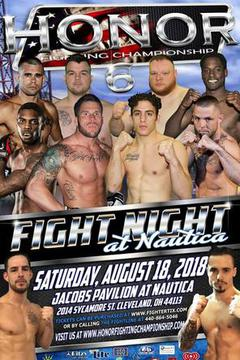 Honor Fighting Championship  6 - Fight Night At Nautica