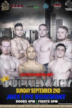 Fight Card Entertainment: Supremacy 2018