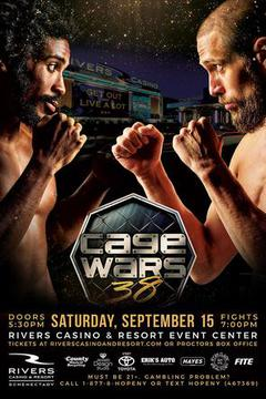 Cage Wars 38 - Jake Davis vs Isaiah Sackey-El