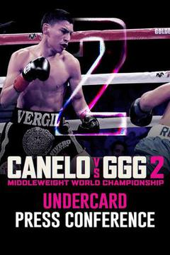 Canelo vs GGG 2: Undercard Press Conference