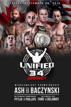 Unified MMA 34 - Teddy Ash vs Seth Baczynski