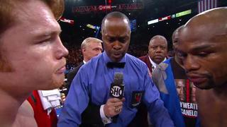 Canelo vs Floyd Mayweather Jr. Highlights