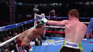 Saul Canelo Alvarez vs Kirland - Best Moments