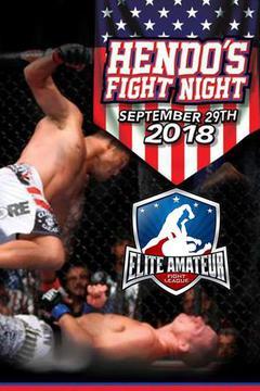 Elite Amateur Fight League - Hendo's Fight Night