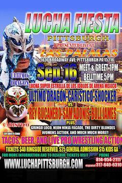 Lucha Fiesta Pittsburgh