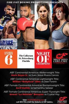 Fire Fist Boxing: Night of Champions