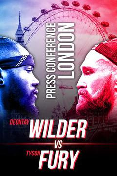 Deontay Wilder vs. Tyson Fury Press Tour: October 1, London