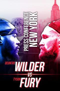 Deontay Wilder vs. Tyson Fury Press Tour: October 2, New York