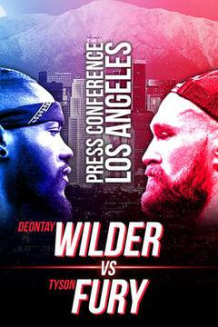 #1: Deontay Wilder vs. Tyson Fury Press Tour: October 3, Los Angeles