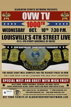 Ohio Valley Wrestling: 1000th episode