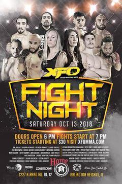 XFO 15 Fight Night