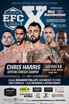 EFC 10 - Chris Harris  vs  Zak Bucia