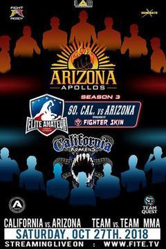 Elite Am. Fight League Season 3 - California vs Arizona (Hosted by WFF)