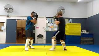 Fight Club Bully Team light sparring