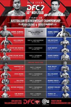 Diamondback Fighting Championship 7 Relentless - Culibao vs Marques