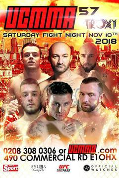 UCMMA 57 - Aron Jones vs Paul Webster