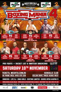 Boxing Mania 4 - Reagan Dessaix vs Steve Lovett