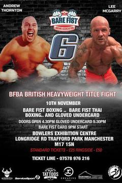 Bare Fist Boxing Association 6