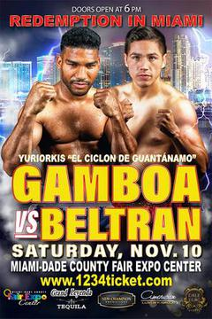 Yuriorkis Gamboa vs Miguel Beltran, Jr: Redemption in Miami