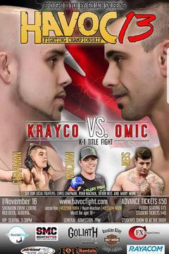 Havoc MMA 13 - Advin Omic vs Matt Kraycо