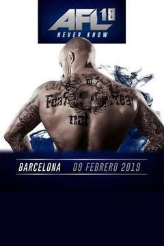 AFL MMA 18: Barcelona - Campbell vs Peralta