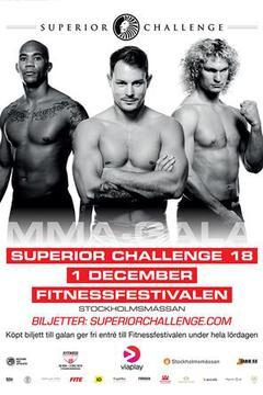 Superior Challenge 18 - Simon Skold vs. Jerry Kvarnstrom