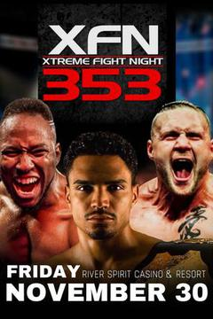 XFN 353 - Matt Dixon vs Brian Grinnell / Superfights